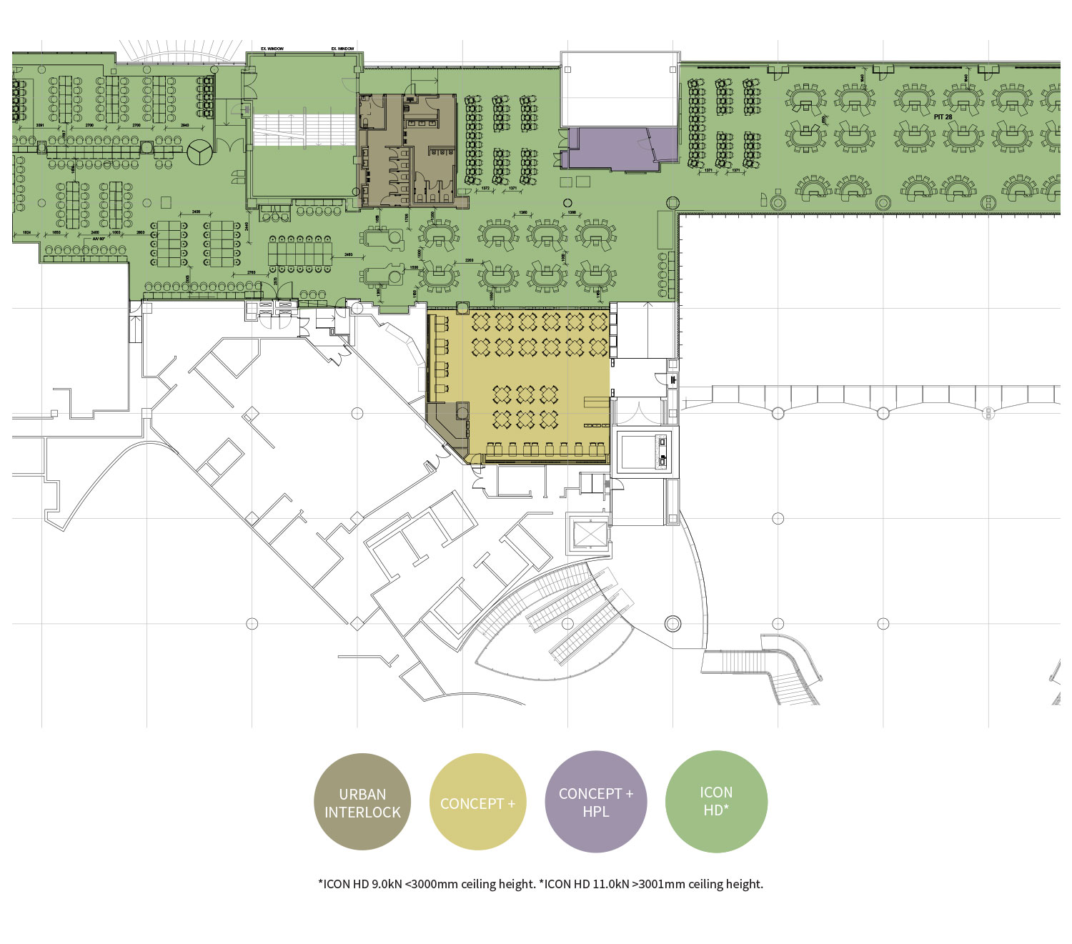 Casino Environment Floorplan