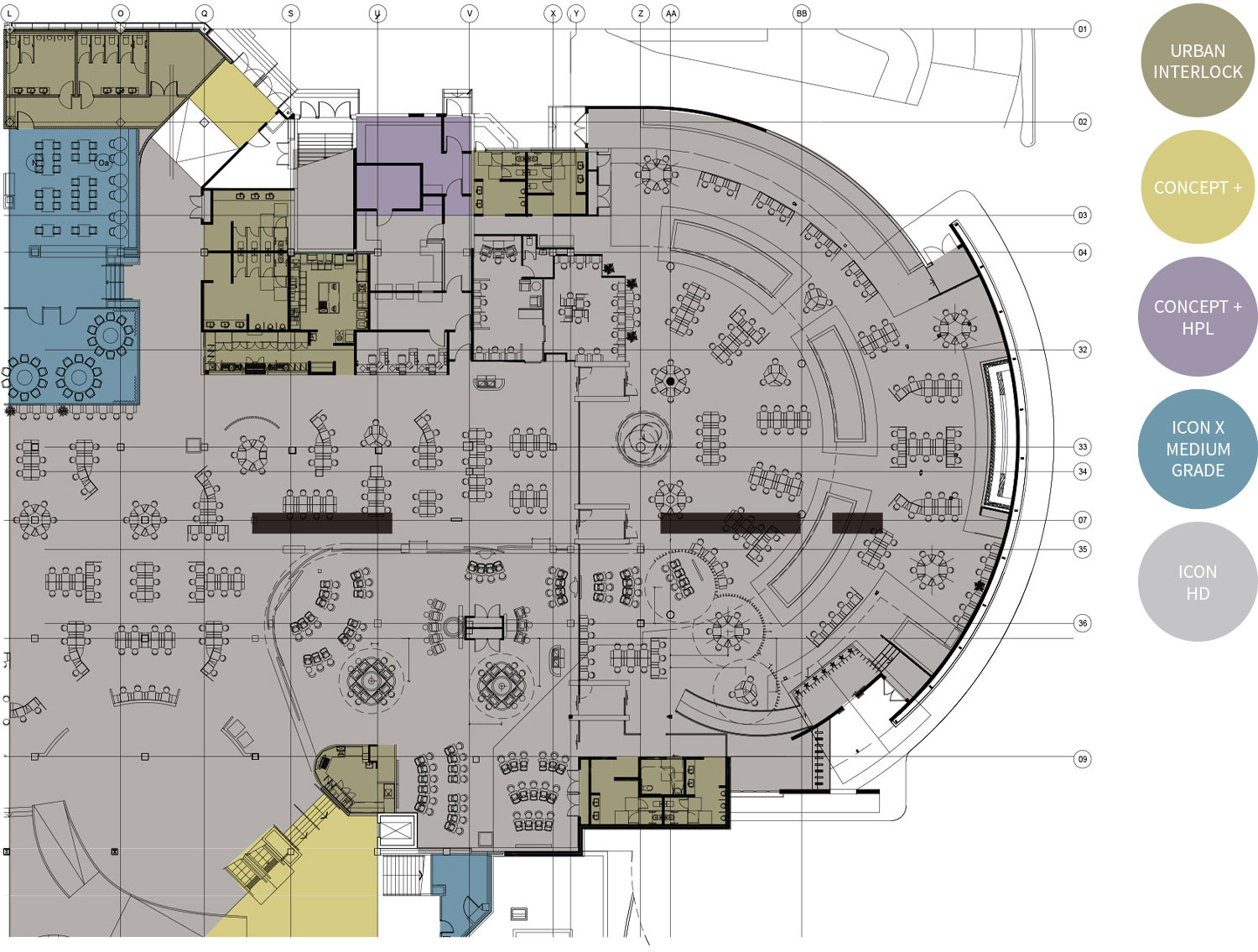 Entertainment Environment Floorplan